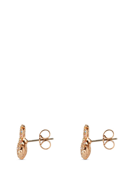 Grace Bas Relief Stud Earrings