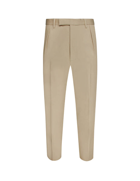 Vivienne Westwood Men's Giulio Fashion Khaki Harri Trousers S25KA0630S526640127