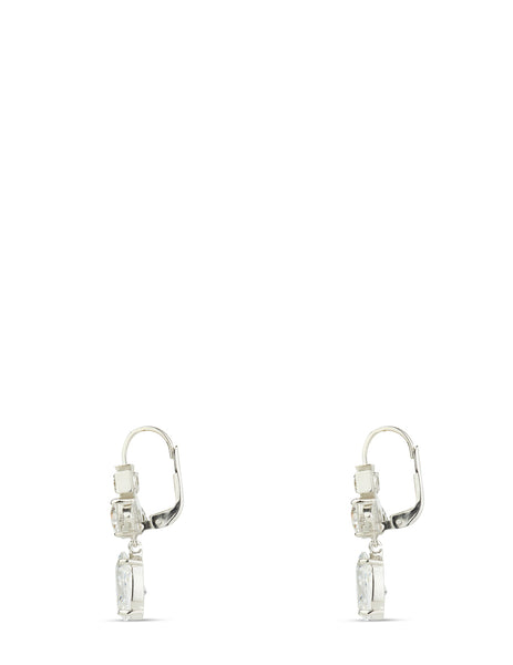 Women's Vivienne Westwood Ismene Drop Earrings in Rhodium - 6202011002W363W363