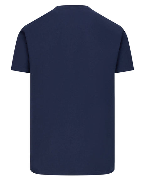 Men's Vivienne Westwood Multicolour Orb T-Shirt in Navy Blue - 3701003521719K401