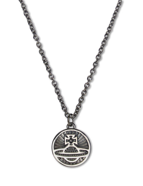Reversible Coin Necklace