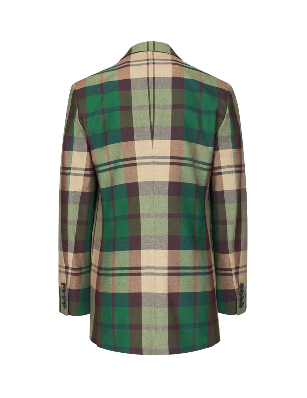 Vivienne Westwood Men's Giulio Fashion Green Tartan Jacket S25BN0412S52106001F
