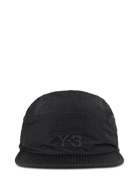 Men's Y-3 CH2 Ventilation Cap in Black - GT6387