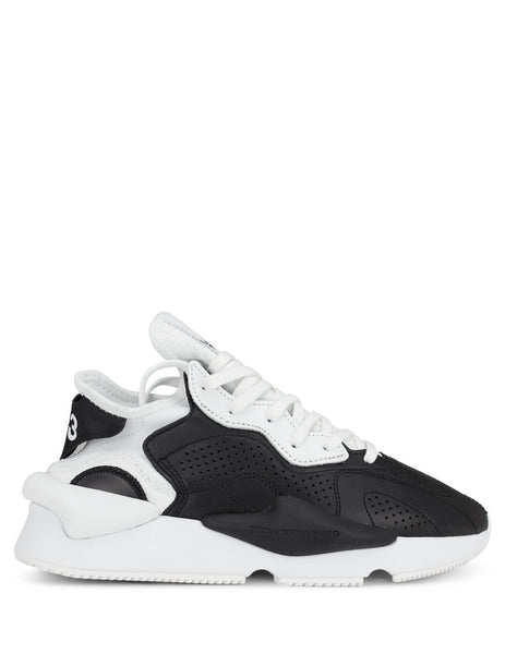 Y-3 Men's Black/Ftwr White Kaiwa Sneakers EH1398