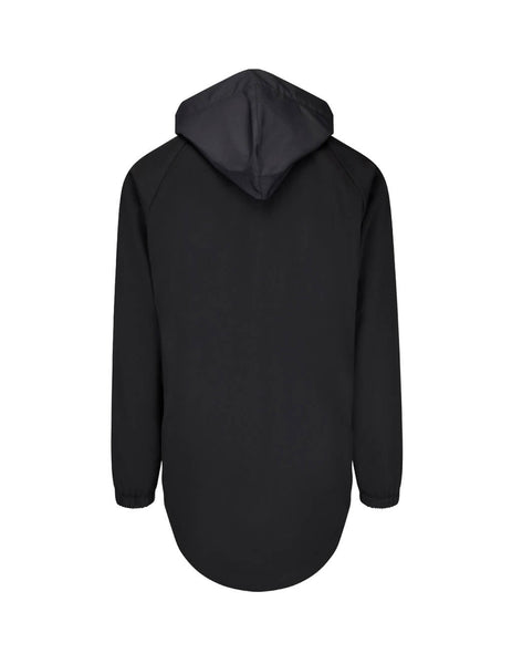 Y-3 Men's Giulio Fashion Black Panel Front Hoodie FJ0452