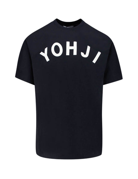 Y-3 Men's Giulio Fashion Black Yohji Tee FJ0327