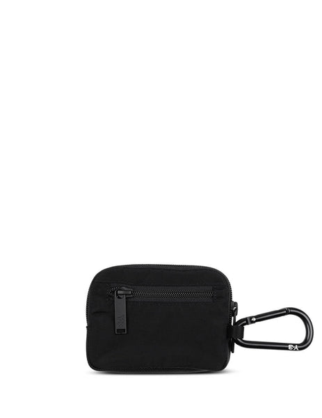 Men's Black Y-3 Logo Pouch FQ6967