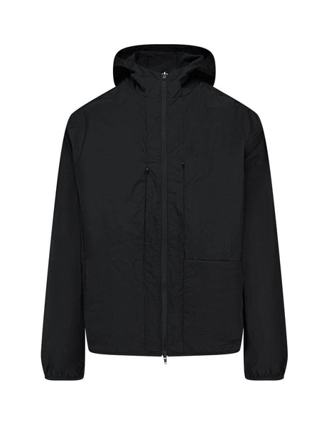 Men's Black Y-3 Nylon Travel Parka FN3011