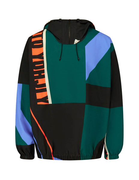 Men's Multicolour Y-3 Swim Allover Print Jacket FN5725