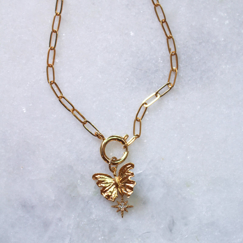 lucy butterfly necklace