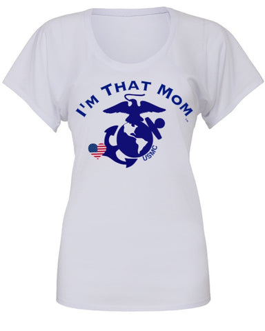 I'm That Mom - USMC - US Marines Corps Tee