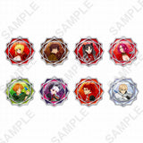 (PO) Fate/EXTRA Last Encore Clear Stained Charm Collection (7)
