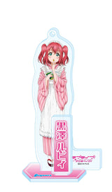 (PO) Love Live! Sunshine! Taisho Romantic Acrylic Stand Key Chain 9 Kurosawa Ruby (9)