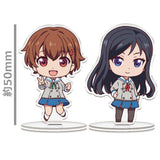 (PO) Action Heroine Cheer Fruits Trading Acrylic Stand (12)