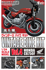 (PO) 1:24 Scale Model Vintage Bike Kit Vol. 4 Honda CB750F (10)