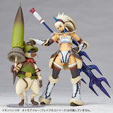 Vulcanlog 020 MonHunRevo Hunter Female Swordsman Kirin Series