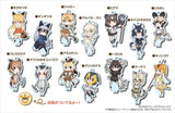 Kemono Friends Collection Acrylic Stand Key Chain Vol. 2