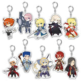 Pikuriru! Fate/Grand Order Trading Acrylic Key Chain
