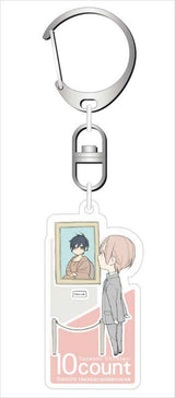 10 Count Acrylic Key Chain Collection