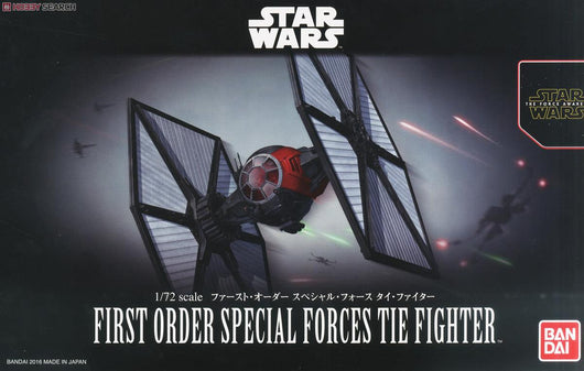 Star Wars 1/72 The Force Awakens - First Order Special Force TIE Fighter (1)