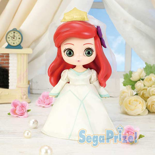 CUICUI Disney Characters PM Doll - Arial Wedding ver. (6)