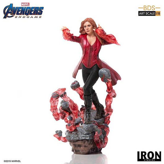 Avengers: Endgame BDS Art Scale 1/10 - Scarlet Witch (12)