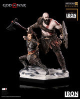 (PO) God of War Deluxe Art Scale 1/10 - Kratos & Atreus (7)