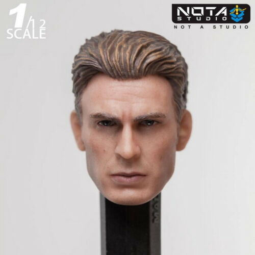 NOTA Studio - 1/12 Captain America Steve Rogers Head (for S.H.Figuarts)