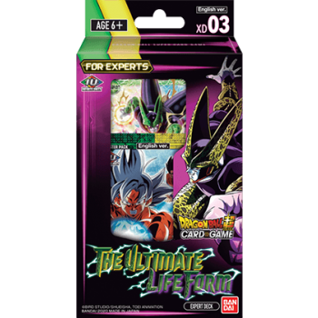 Dragonball Super DB09 - XD03 The Ultimate Life Form Starter Deck