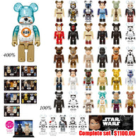Star Wars Happy Kuji Be@rbrick Complete set w/400% BB-8
