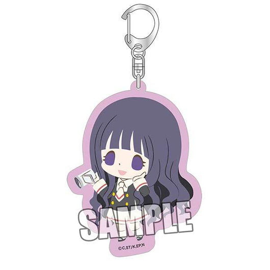 chipicco Cardcaptor Sakura: Clear Card Arc Acrylic Key Chain - Tomoyo School Uniform Ver.