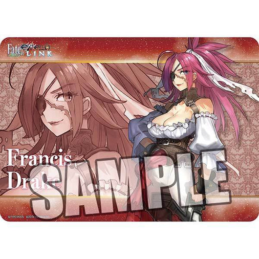 Broccoli Character Rubber Mat Fate/EXTELLA LINK - Francis Drake
