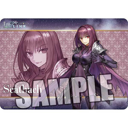 Broccoli Character Rubber Mat Fate/EXTELLA LINK - Scathach