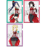 Love Live! Sunshine! Clear File 3 Set Magician Ver. Third-year Student