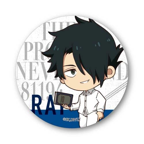The Promised Neverland Tekutoko Can Badge Ray