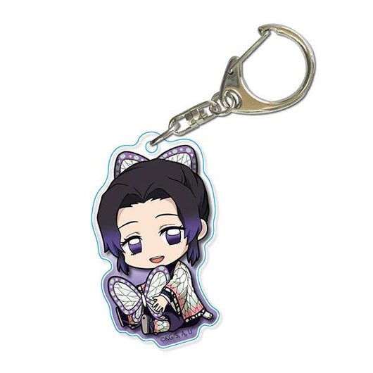 (PO) Demon Slayer: Kimetsu no Yaiba GyuGyutto Acrylic Key Chain - Kocho Shinobu (11)