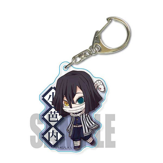 (PO) Demon Slayer: Kimetsu no Yaiba TEKUTOKO Acrylic Key Chain Vol. 3 - Iguro Obanai (12)