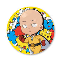 One-Punch Man - TEKUTOKO Can Badge Saitama Normal Ver.