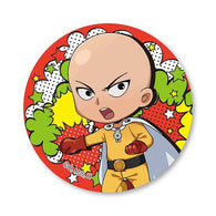 One-Punch Man - TEKUTOKO Can Badge Saitama Maji Ver.