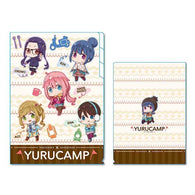 Yurucamp TEKUTOKO 3 Pocket Clear File