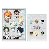 The Promised Neverland GyuGyutto Clear File 3 Pocket Group (3)