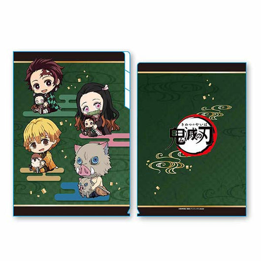 (PO) Demon Slayer: Kimetsu no Yaiba Clear File 3 Pocket GyuGyutto (11)
