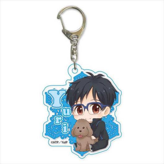 (PO) Yuri! on Ice GyuGyutto Acrylic Key Chain Part. 2