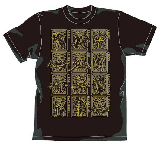 Saint Seiya Gold Saint T-Shirt (3)