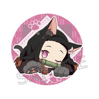 Demon Slayer: Kimetsu no Yaiba Nyaforme Button Badge - Kamado Nezuko