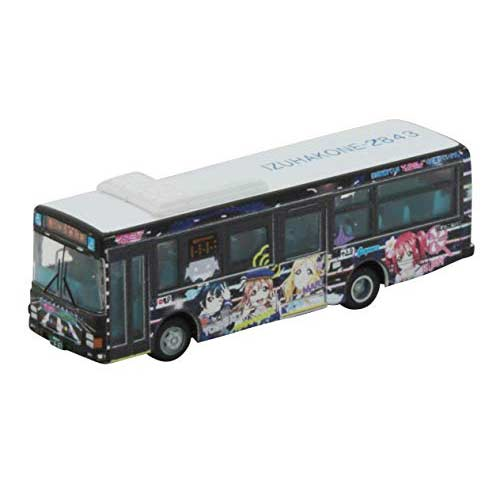 1/150 Scale The Bus Collection Izuhakne Bus  - Love Live! Sunshine! Wrapping Bus No. 3 (4)