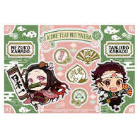 Demon Slayer: Kimetsu no Yaiba Sticker Set Tanjiro & Nezuko Busting Ogres Ver.