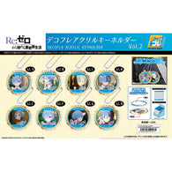 (PO) DECOFLA Acrylic Key Chain RE:Zero Starting Life in Another World Vol. 2 Rem Box (9)
