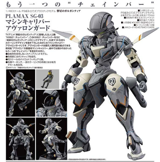 (PO) Gargantia on the Verdurous Planet PLAMAX SG-03 Machine Caliber Avalon Guard (4)