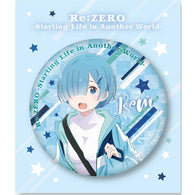 (PO) Re:Zero Starting Life in Another World Big Kirakira Can Badge Rem ver. (7)
